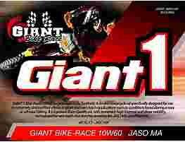 GIANT 1 BIKE RACE 10W-60
