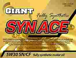 GIANT SYN ACE 5W-30 SN/CF