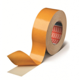 POLYESTER DOUBLE SIDED TAPE, ACRYLIC, CLEAR  50M ROLL