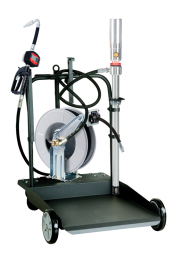 EL SERIES MOBILE 205L OIL TRANSFER KIT WITH METER AND HOSE REEL